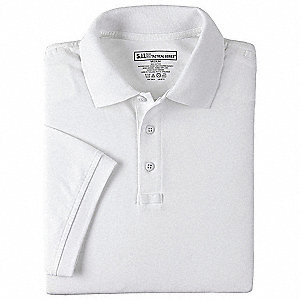 Tactical Polo, M, White