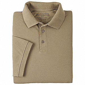 Professional Polo, L, Silver Tan