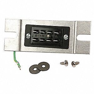 Plug Assembly and Screw, Disconnect