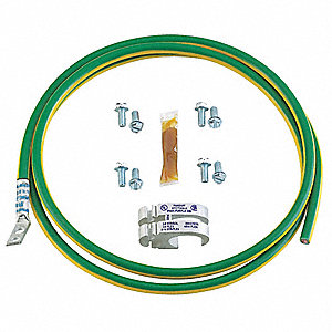 Panduit Tin Plated Copper Grounding Jumper Wire Kit Ground Wire Included  Awg 21wj56rgcbnj660p22 Grainger