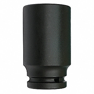 Impact Socket,3/4In Dr,46mm,6pts