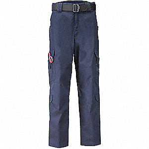 "Taclite EMS Pants. Size: 28"" x  32"", Fits Waist Size: 28"" to 32"", Inseam: 32"", Dark Navy"