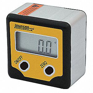 Digital Angle Finder >> Johnson Digital Angle Finder Magnetic 2 Button 21xk29 1886 0100
