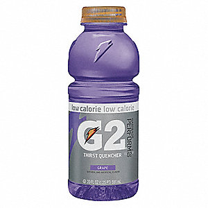 Grape Ready to Drink Low Calorie Sports Drink, Package Size: 20 oz., Yield: 20 oz., 24 PK