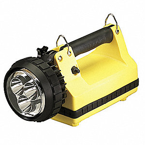 LED Tactical Lantern, ABS Plastic, Maximum Lumens Output: 540, Yellow, 11.50""