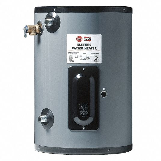 Rheem Ruud Commercial Electric Water Heater 15 0 Gal Tank Capacity 120v 1 500 W Total Watts 21xp25 Egsp15 Grainger