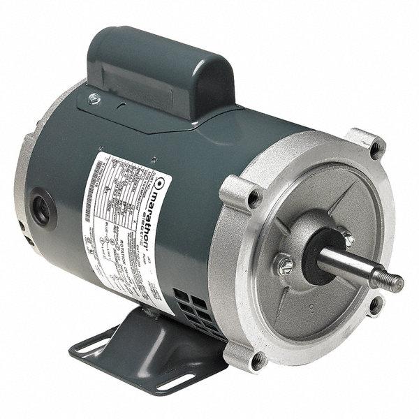 Marathon motors 1 3 hp jet pump motor capacitor start for Marathon electric motor replacement parts