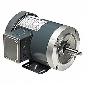 3 HP Jet Pump Motor, 3-Phase, 3450 Nameplate RPM, 230/460 Voltage, 56C Frame