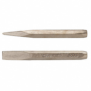 Hand Chisel,2 In. x 10-5/8 In.