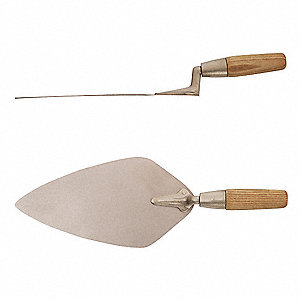 Bricklayer Trowel,Non-Spark,5-9/16 x14In