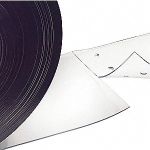 "Smooth PVC Replacement Strips, 6""W x 7 ft.L"