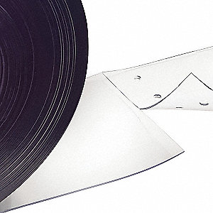 "Smooth, Reinforced PVC Replacement Strips, 8""W x 7 ft.L"