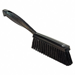 HAND BRUSH,MEDIUM,BLACK