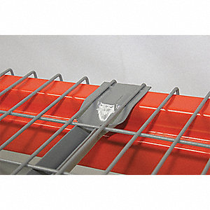 "Steel Wire Decking used with Pallet Rack, 36""D x 46""W, Gray"