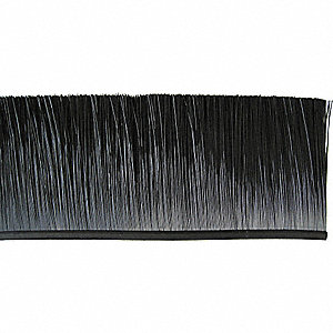 Flexible Brush,1200 In L,3 In Trim,Poly