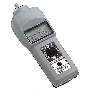 Tachometer,0.10 to 25,000 rpm