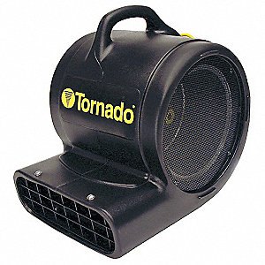 Portable Blower Fan,115V,2900 cfm,Black