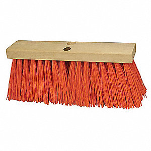 "Sweeping Broom,Poly,24"" Block"