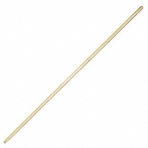 Blonde Wood Broom Handle, Length 54""