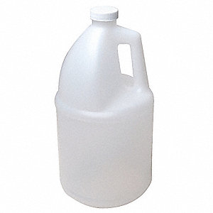 HDPE Round Bottle, 1 gal. 1EA