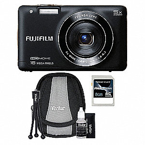 Digital Camera Kit with 16 Megapixels and 5X Optical Zoom