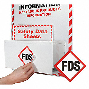 "FDS Awareness Decal, Plastic, 4"" x 4"", 10 PK"