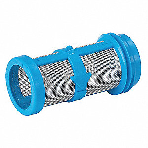 "Handheld Spray Gun Tip Filter, 100-Mesh, Use with Tip Sizes: 0.017"", 3 PK"