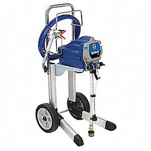 Airless Paint Sprayer, 5/8 HP, 0.31 gpm Flow Rate, Operating Pressure: 3000 psi