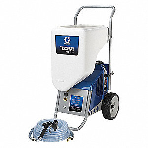120 VACV, 1.7 HP 10 gal. Texture Sprayer with 1.25 gpm Flow Rate