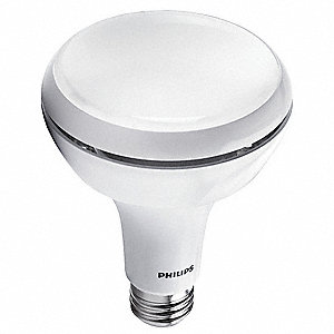 9.5 Watts LED Lamp, BR30, Medium Screw (E26), 650 Lumens, 2700K Bulb Color Temp.