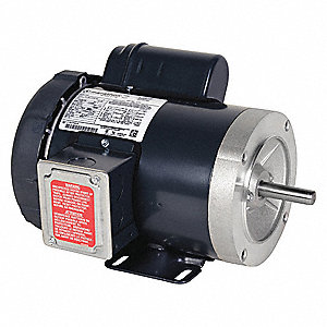 1/3 HP General Purpose Motor,Capacitor-Start,1725 Nameplate RPM,Voltage 115/208-230,Frame 56C