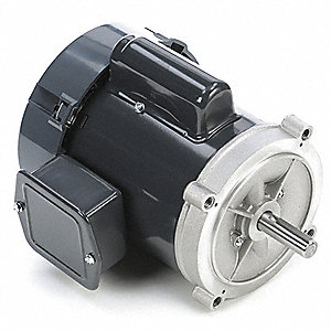 1/4 HP General Purpose Motor,Capacitor-Start,1725 Nameplate RPM,Voltage 115/230,Frame 56C