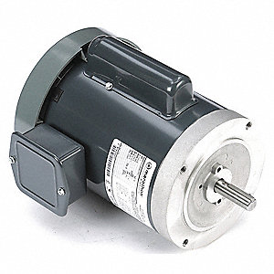 1 HP General Purpose Motor,Capacitor-Start,3450 Nameplate RPM,Voltage 115/230,Frame 56C