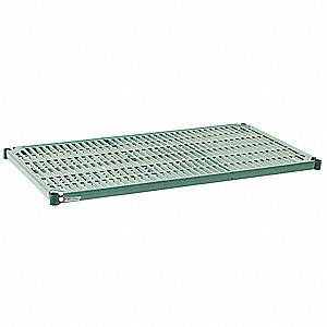 Wire Shelf,24x60 in.,Green Epoxy Coat