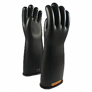 ELECTRICAL GLOVES, BLK, CLASS4,18IN