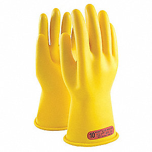 ELECTRICAL GLOVES, YLW CLASS 0 14IN