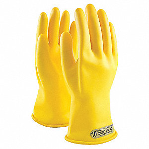 ELECTRICAL GLOVES, YL CLASS 00 14IN