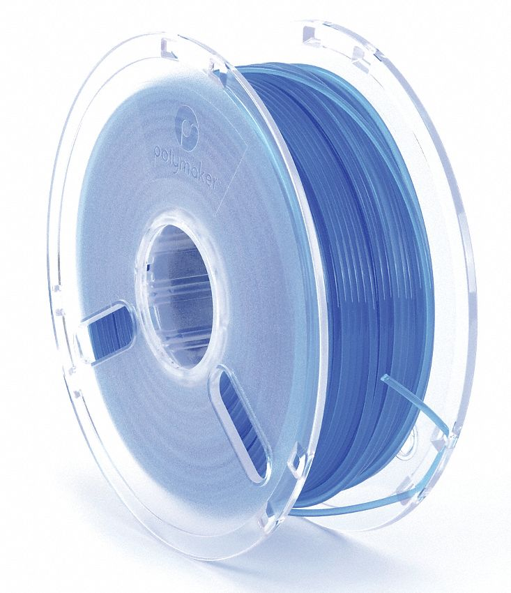 3D Printing Filament,  PLA,  Blue,  Diameter 3 mm,  1.00 kg