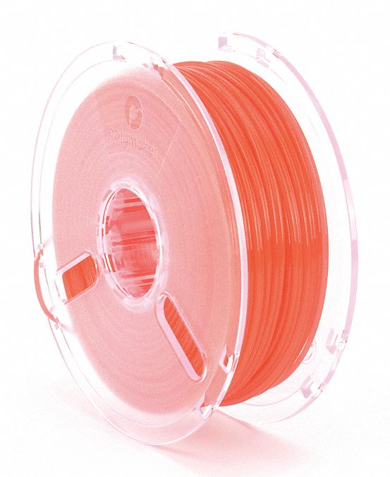 3D Printing Filament,  PLA,  Red,  Diameter 3 mm,  1.00 kg