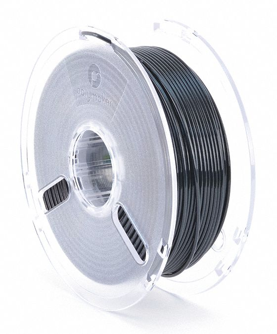 3D Printing Filament,  PLA,  Black,  Diameter 3 mm,  1.00 kg