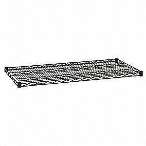 "Wire Shelf,30"" W,24"" D,Epoxy"