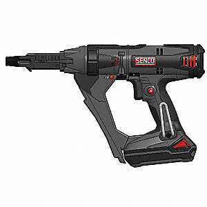 Cordless Autofeed Screwdriver Kit, 18.0 Voltage, Battery Included