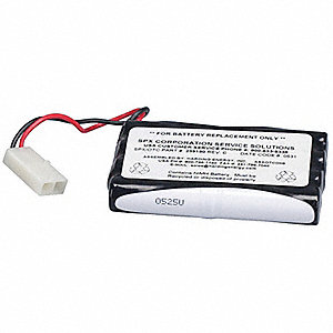 Replacement Battery ,9.6 VDC