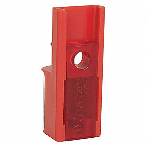 Circuit Breaker Lockout, Aircraft Lockout Type, Polycarbonate Plastic