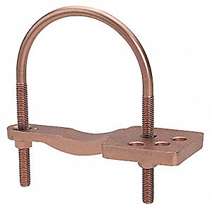 Pipe Ground Clamp,3.75In