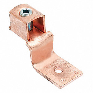 Mechanical Connector, Copper, Max. Conductor Size: 1/0 AWG Stranded