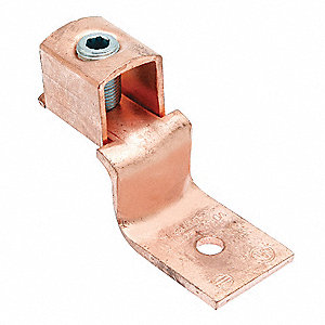 Mechanical Connector, Copper, Max. Conductor Size: 3/0 AWG Stranded