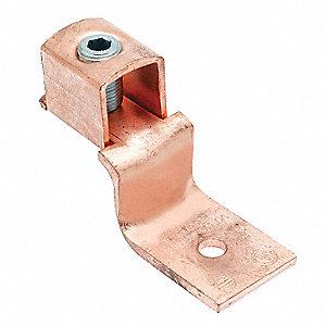 Mechanical Connector, Copper, Max. Conductor Size: 10 AWG Stranded/Solid