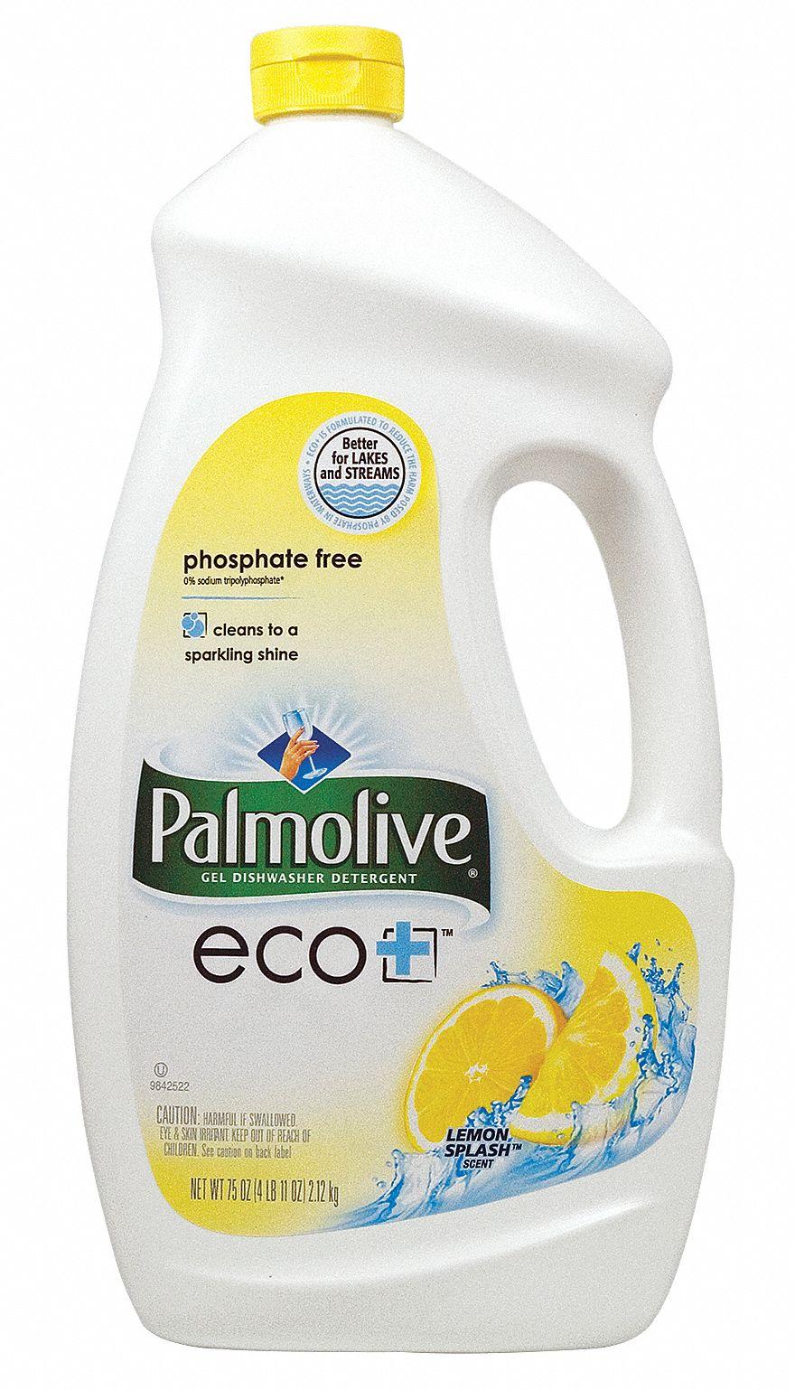 PALMOLIVE Liquid Atmtc Dishwashing DtrgtLemonPK6 22C526CPC