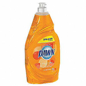 Dishwashing Liquid,34.2 oz.,Orange,PK8
